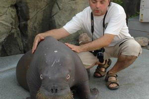 Nový riaditeľ košickej zoologickej záhrady Erich Kočner.