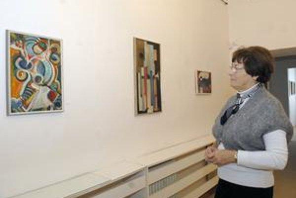 """Geometrická abstrakcia z """"dielne"""" Štefana Makaru ju nájdete v Múzeu Vojtecha Löfflera."""