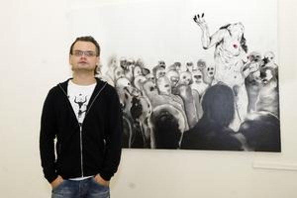Talentovaný Boris Sirka. Označujú ho za objav súčasného maliarstva.