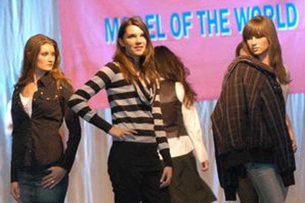 Vlani sa vo finále predstavili nádejné modelky z celého Slovenska.