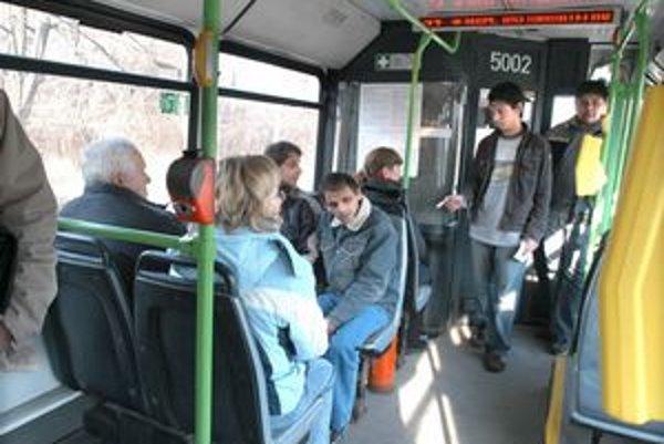 Bezpečnostné kamery nebudú strážiť cestujúcich v košických autobusoch.