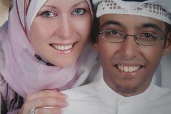 Slovenka Silvia a jej kuvajtský manžel Aziz.