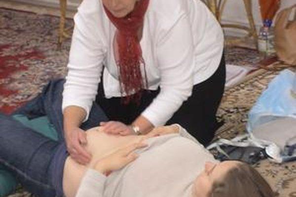 Pôrodná asistentka Zuzana Štromerová