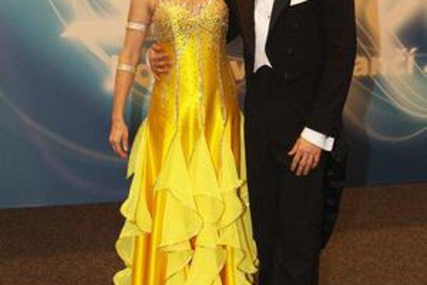 Veronika Žilková so svojím tanečným partnerom v StarDance Marekom Dědíkom.