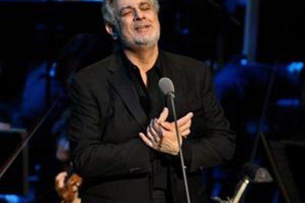 Svetoznámy tenorista Placido Domingo.