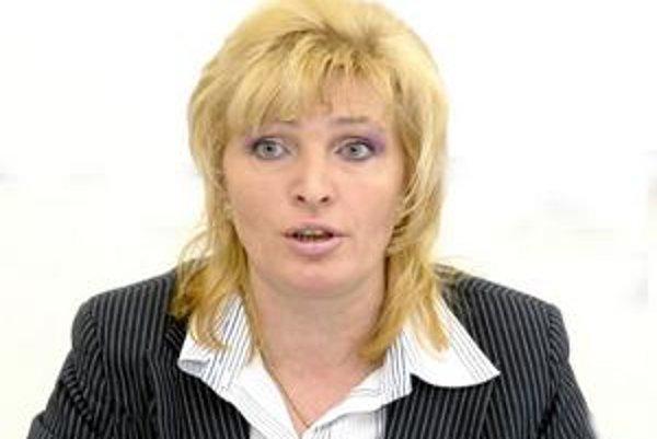 Starostka Anna Jenčová. Minulý rok kúpila dva byty, aké veľké a za koľko, povedať Korzáru nechcela.