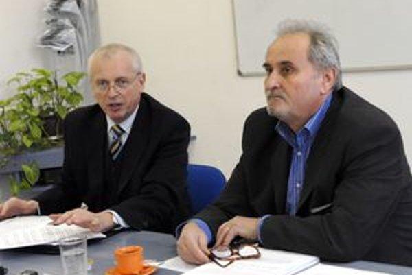 Eugen Čuňo (vľavo) a Ladislav Pirovits.