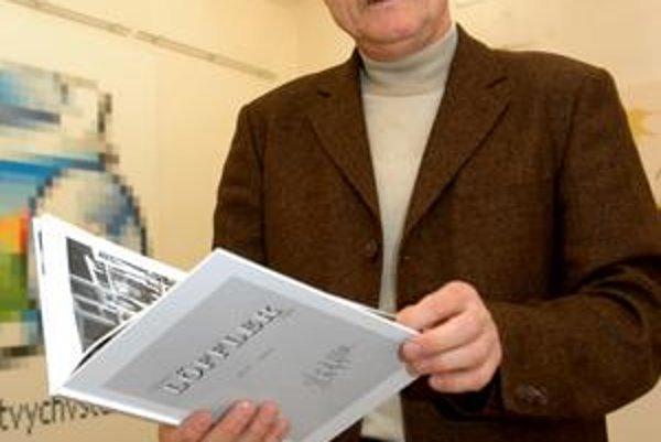 Riaditeľ múzea. Jozef Gazdag verí, že sú návštevníci s činnosťou múzea spokojní.