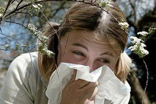 Alergie trápia alergikov najmä na jar a v lete.