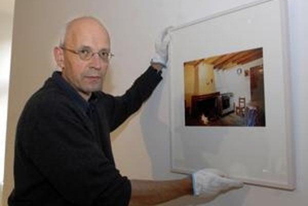 Martin Rosswog. Jeho tvorbu nájdete vo Východoslovenskej galérii.
