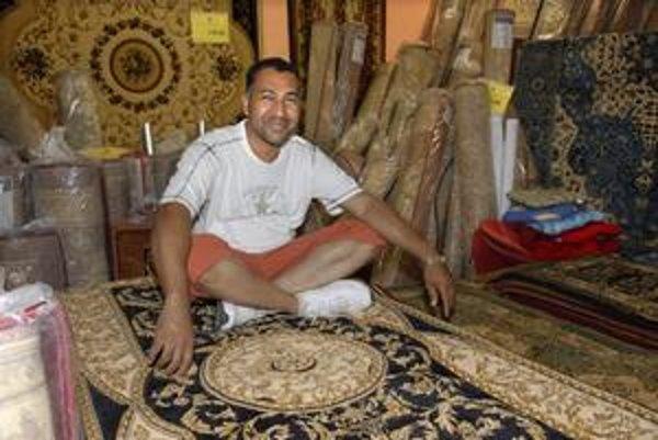 Ing. Omar Ukleh, pochádzajúci zo Sýrie.