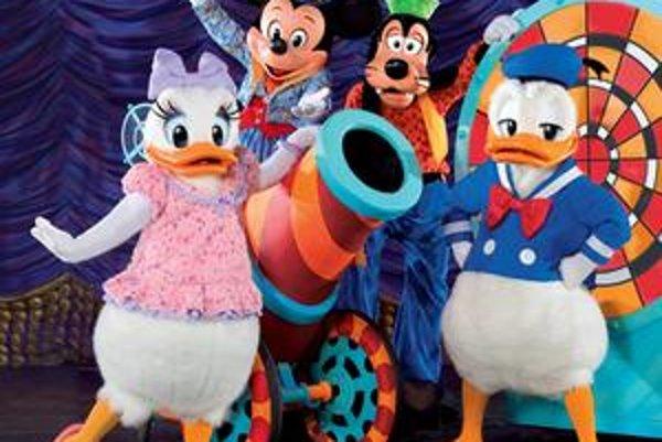 Mickey Mouse. Magic Show môžete navštíviť až tri dni.