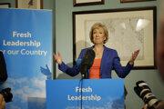 Andrea Leadsomová vidí v brexite príležitosť.