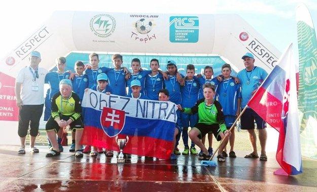 Družstvo NKS U13 vybojovalo bronz.
