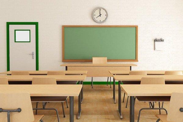 Koľko bude v pondelok takto prázdnych tried?