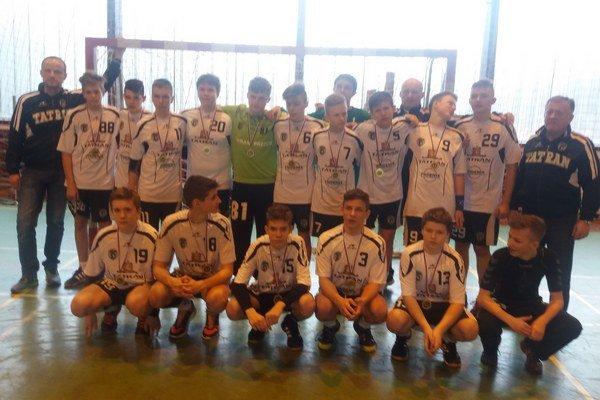 Prešovské nádeje uspeli vStupave. Vyhrali medzinárodný turnaj starších žiakov.