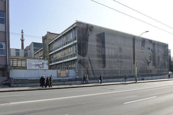 Budova bývalej firmy OZKN v Prešove.