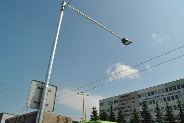 Osvetlenie. Obnovy sa dočkal aj Prešov.