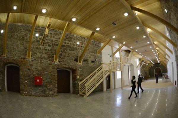 Obnovené priestory Skladu soli v Solivare.