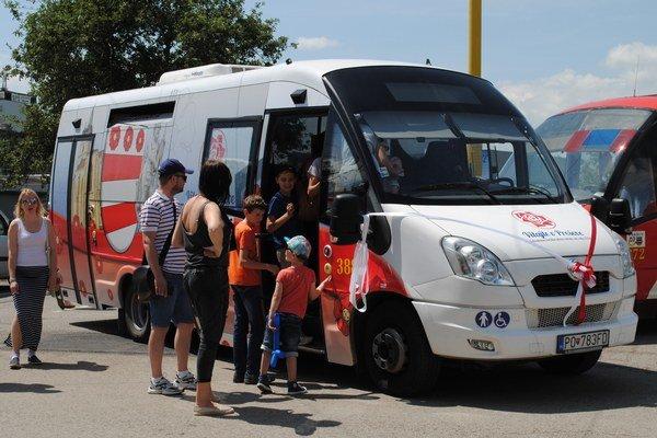 Vyhliadkový autobus bude premávať zatiaľ nepravidelne, len na požiadanie.
