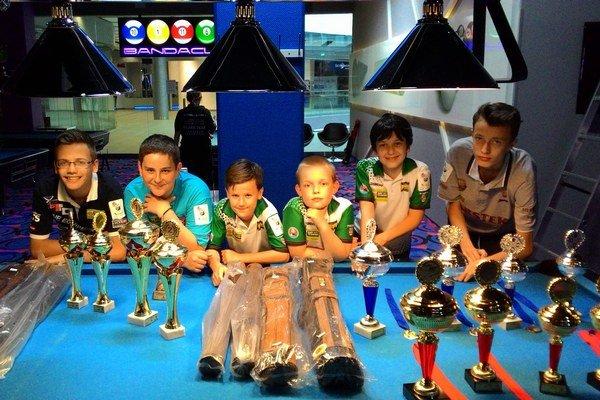 Malí poolisti na veľkom turnaji v Poľsku.