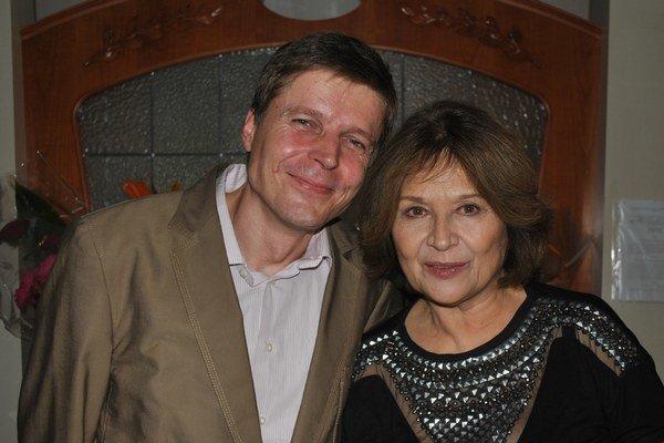Marko Škop a Emília Vášáryová.