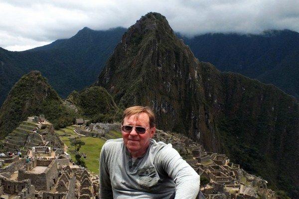 Machu Picchu v Peru. Rudolfa Košča fascinovali najmä hory v okolí a kaňony.