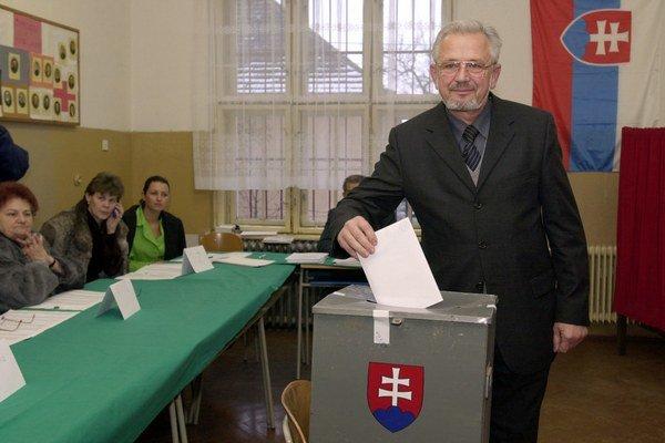 Juraj Kopčák. Jeho pozícia bola roky neotrasiteľná.