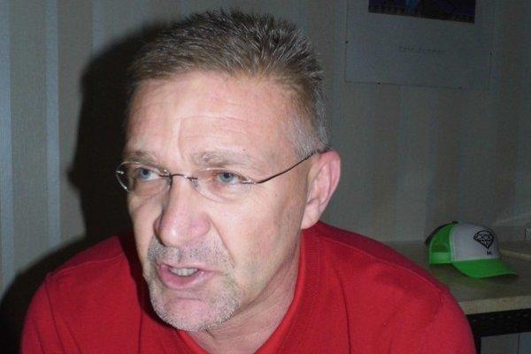 Koordinátor mládeže Štefan Mihálik.