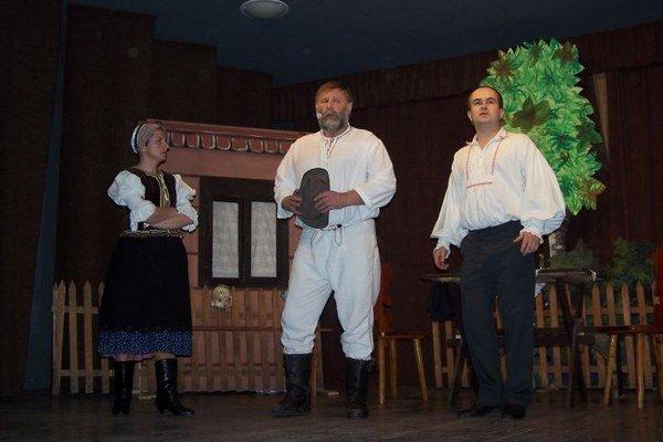 Momentka z divadelnej hry Richtárka (2009)