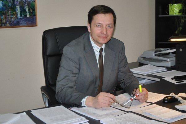 Alexander Ernst. Hlavný kontrolór mesta Prešov.
