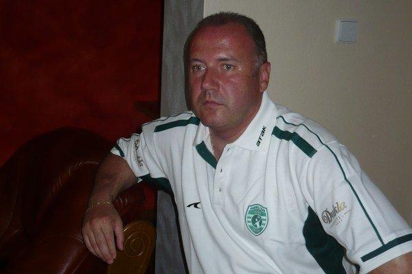 Ivan Pompoš. Aj zásluhou bývalého trénera Tatrana Topoľčany prídu dnes do Prešova.
