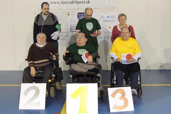 Úspešne si počínali  členovia športového klubu Boccia ZOM Prešov - Boris Klohna a jeho športový asistent Michal Kall.