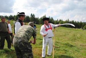 Ľubomír Košút. Medzi koscami bol najlepší, na Oravu si odniesol tri ceny.