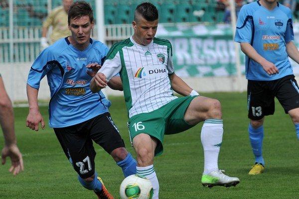 Matúš Marcin. Rád by sa futbalovo zdokonalil v českej najvyššej súťaži.