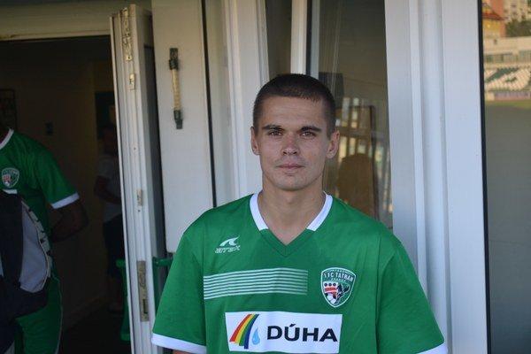 Dávid Leško. V ouvertúre druholigového ročníka sa presadil dvoma gólmi.