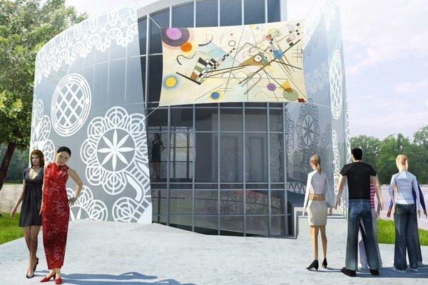 Vizualizácia budúceho Parku umenia.
