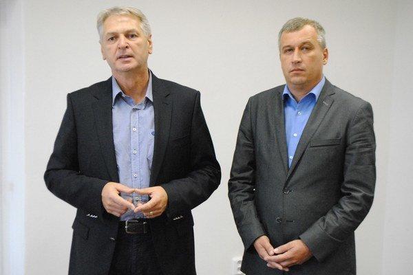 Ján Hudacký a Pavol Zajac (vpravo).