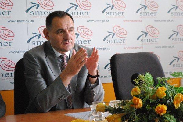 Peter Chudík, kandidát koalície Smer-SD, NK, SMS.