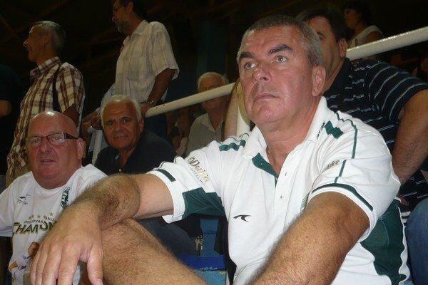 Miloslav Chmeliar. S prácou trénera i hráčov je zatiaľ spokojný.