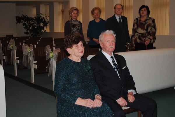 Diamantoví manželia. Aj po 60 rokoch hovoria, že jediným receptom na dlhý vzťah je láska.