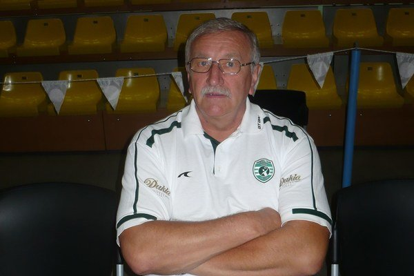 Tréner majstrov. P. Hatalčík dnes zázraky neočakáva.