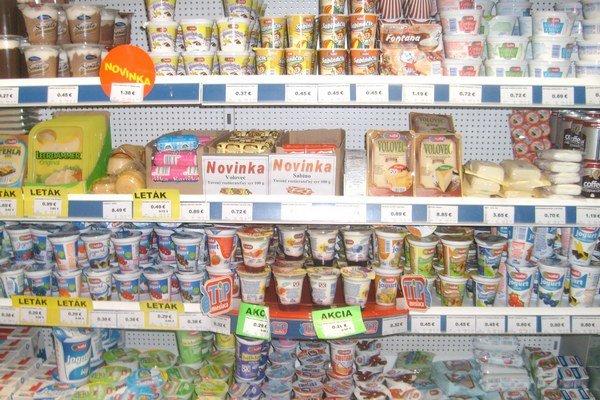 Mliečne výrobky. Výber je síce veľký, ale časť ľudí hľadá produkty bez chemickej úpravy.