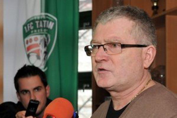 Bývalý generálny riaditeľ 1. FC Tatran Prešov Jozef Petrik.