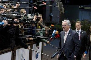 Jean-Claude Juncker na bruselskom summite.