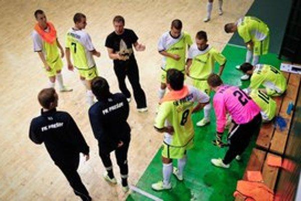 Smutní. Futsalisti Prešova prehrali tretí raz po sebe.