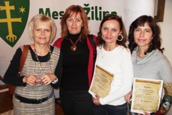 Ocenenia. Putujú aj do Prešova.