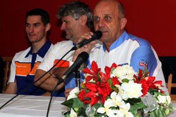 Igor Drotár. Skúsený jazdec si na Winter cupe vyskúša aj rolu organizátora.