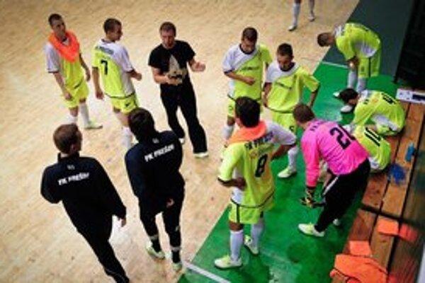 Futsalisti PrešovaRadi by úspešne  vykročili v tohtoročnej premiére.FOTO: ARCHÍV