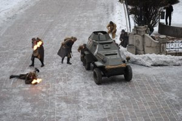 V Prešove sa v piatok bojovalo.